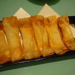TOFU'S DINING LOUNGE - チーズのカリカリ揚げ580円。