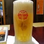 喜作 - オリオン生ビール