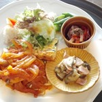 Seven C's - 料理写真:日替わりランチ一例