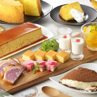 【季節限定スイーツ】デザートも食べ放題!!