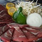 六甲山ジンギスカンパレス - 料理写真:ラムランチ二人前