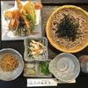 紅葉亭 - 料理写真:前菜付き 天ざる蕎麦