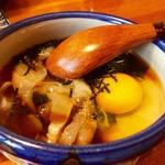 72927580 - 鯛めしのタレ〜♫                       鯛のお刺身がたっぷり!                       これを混ぜてご飯にかけます^ ^