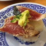 無添くら寿司 - 鰹のタタキ