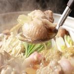 相撲茶屋 ちゃんこ 江戸沢 - ドリンク写真:あつあつの鍋