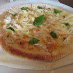 72930971 - 竹の子とアンチョビのピザ