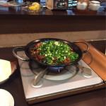 もつ鍋 みやわき - にわか焼き これ本当においしいです