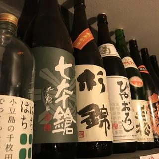 日本酒は常時50種以上!!