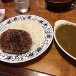 インドール - ハンバーグカレー