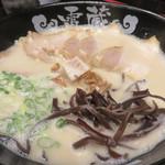 らーめん雷蔵  - チャーシュー麺820円。