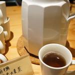 加古川ワインバル - 有機六条大麦茶(2017.9.11)