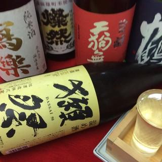 岡山地酒6種をはじめ全国の日本酒を店長が厳選してご用意