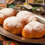放課後駄菓子バーAー55 京都四条河原町店  - 給食の定番。揚げパンです。