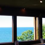ビュー カフェ オタル アールファイブ ユアータイム - 店内からの眺め