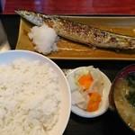 だるま屋 - さんま焼き定食、680円!