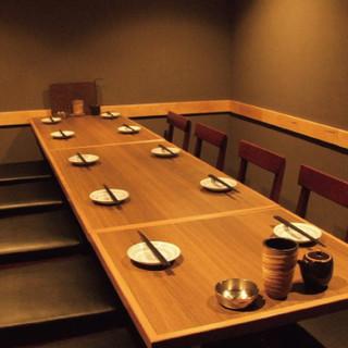 個室席完備!フロアごとの貸切でのご宴会も承ります!!