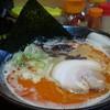 節極 - 料理写真:赤とんこつらーめん720円