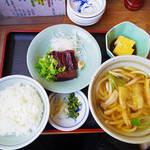 一朗 - 【ランチ】 お魚定食(鯨) \900