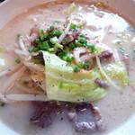 和風創作料理だいご - ちゃんぽん¥800。主人にひとくち食べさせてもらいましたが、油濃さが無い、かなりおいしいちゃんぽんでした。
