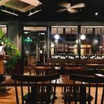 Pizzeria&Osteria AGRUME - ソファ席からの店内の雰囲気