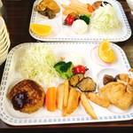 頂上山荘 - 料理写真: