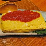 たんぼ居酒屋 - だし巻たまご(チーズ)