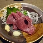 ダイニング禄 - 料理写真:馬刺  肉厚でうまかった!