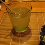 たんぼ居酒屋 - にごり梅酒