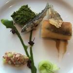 パノラミックレストラン ル・ノルマンディ - 鮎の料理たち