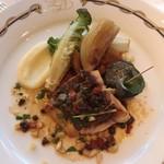 パノラミックレストラン ル・ノルマンディ - メイン魚料理