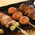 ヤキトリベースウッチ - 豚バラ(写真:左)