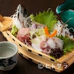 ごま料理 蔵馬 - 鮮度抜群の鮮魚、季節の野菜をふんだんに使った料理