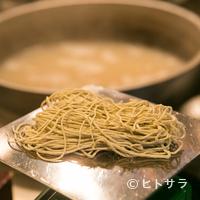江戸蕎麦ほそ川 - 店主自ら厳選する日本全国の蕎麦粉