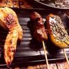 博多串焼き卸 ウマカーよかばい - 料理写真:手羽餃子牛カルビ&手ごねつくね
