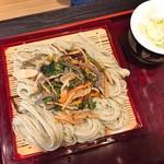 やぶ - 山菜ざる(850円)