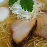 麺処 風人 - 淡麗味玉塩そば  ¥800