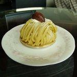 レッヒェルン洋菓子店 - 和栗のモンブラン