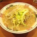 自家製太麺 ドカ盛 マッチョ - 並マシなし