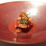 La Cime - 北海道ザリガニとジロール茸トマトソース クラッシック