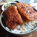 頓珍館 - ミニソースカツ丼は茶碗です!