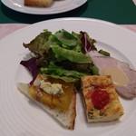 クラブコントラーダ - 料理写真:エトナコース(オードブル)