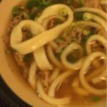 星のうどん - 太麺が混入