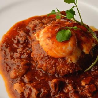 イタリアンを中心としたバー以上のお料理