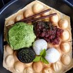 抹茶&白玉&あんこ