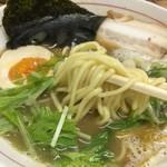 一輝 - 料理写真:魚介鶏白湯らーめん