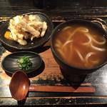 72971735 - 「料理」土ごぼう天うどん