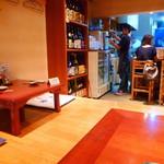 焼酎と手しごと料理の店 まさや - ◆奥の小上がり席