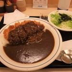 かつや - 【サラダセット】「カツカレー(梅)+サラダ