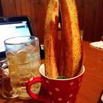 玉郎 - ガーリックフランスは、温かいうちに食べよう