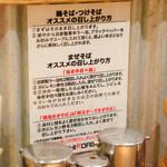 Torisobajiyuubanichikoro - 食べ方